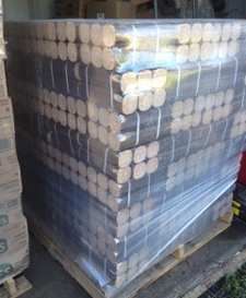 Ecological densified log new BIOMASS log in box delivery ...