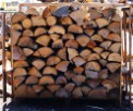 Dry firewood wooden pallet delivery only bois-sec-chauffage-firewood.com
