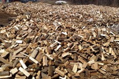 Delivery dry heating firewood,ecological densified log Laval