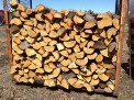 small split wood dry pallett firewood delivery